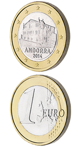 монеты андорра