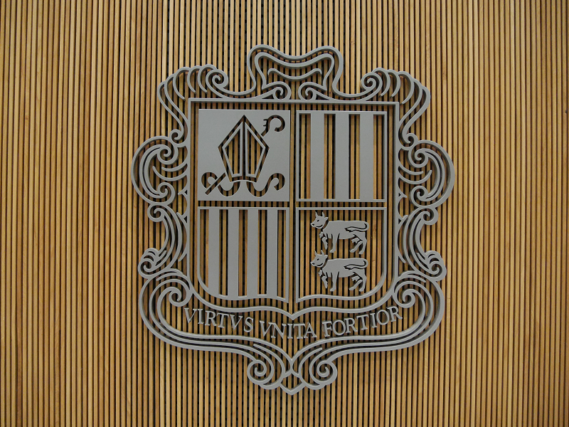 coat of arms andorra