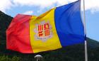 флаги стран мира_флаг андорры