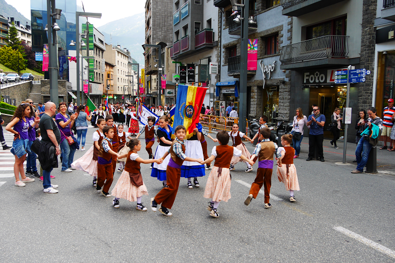 Festivals and day offs andorra