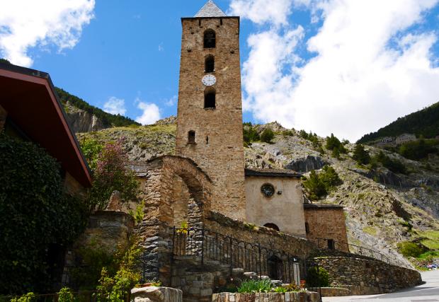 Sant Serni de Canillo church