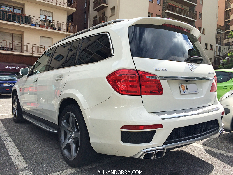 Mercedes Benz Gl Amg X White Color
