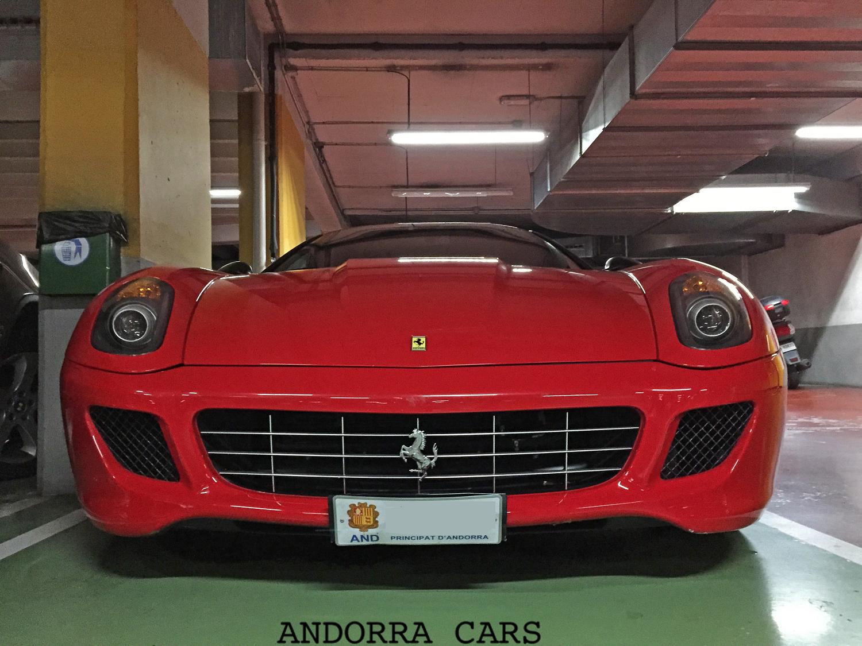 Ferrari 599 GTB Fiorano  ALL ANDORRA