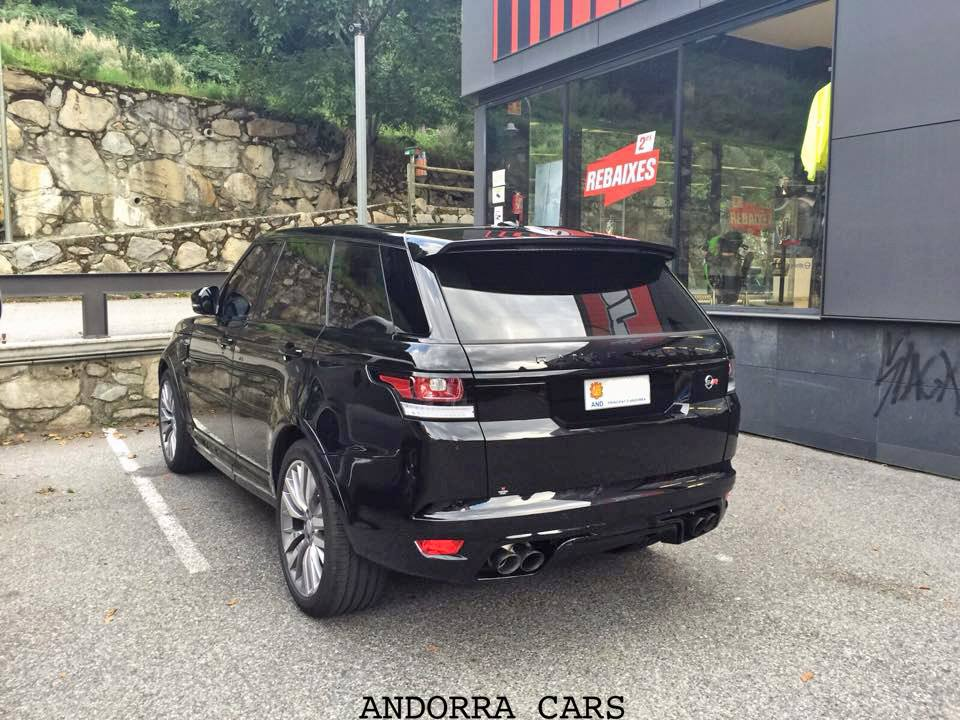 RANGE ROVER SVR 550 CV black colour