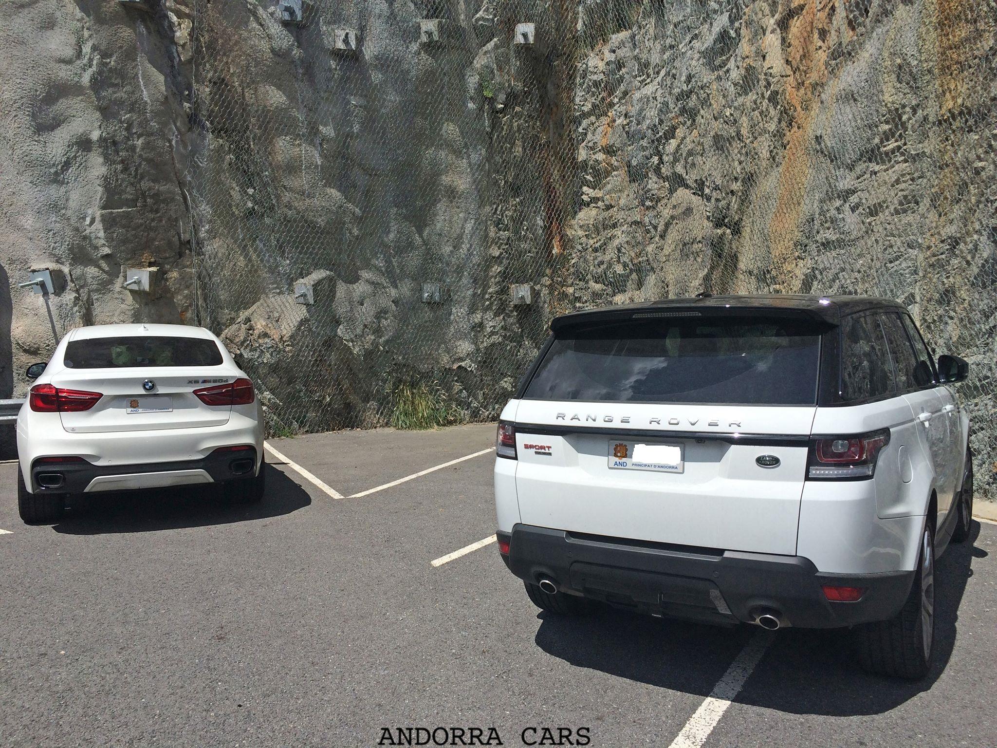 Bmw X6 M 50 D Vs Range Rover Sport White Color