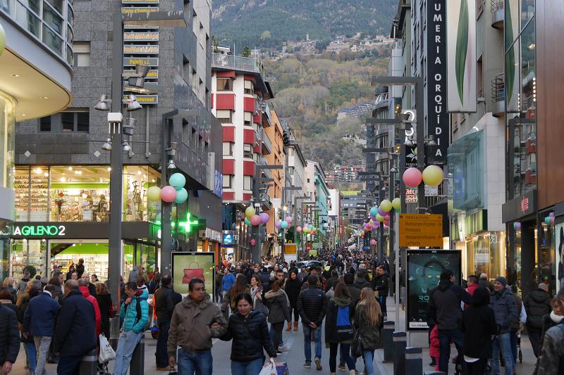 La population d'Andorre