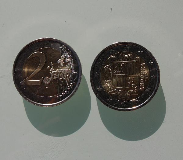 монеты андорры