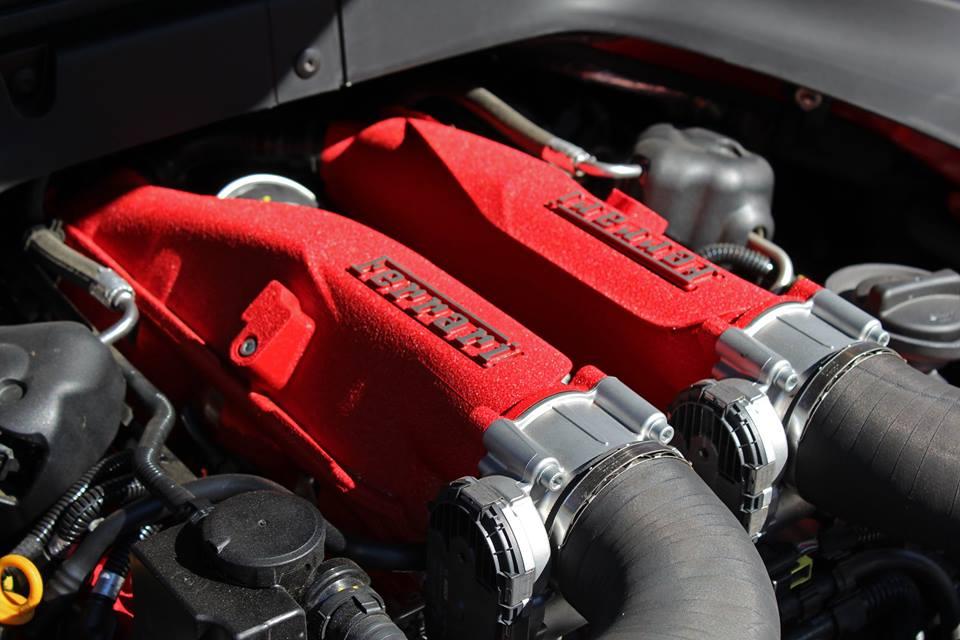 Moteur de Ferrari California T