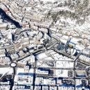 Andorra by birds eye view. Flying over Andorra with Pyrenees Flight Center