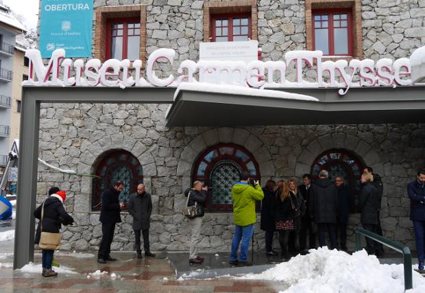 carmen thyssen museum opening