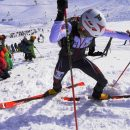 The world Cup Font Blanca, Andorra. Individual race. 21.01.2017