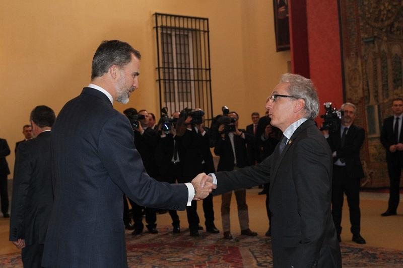 король испании и министр туризма андорры