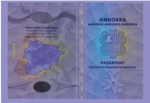 passeports andorrans de nouvelle génération