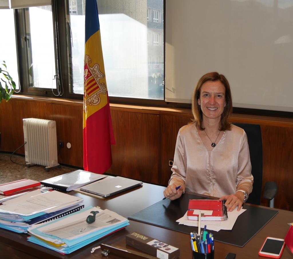 silvia calvo minister of environment of andorra