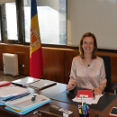 """""""Andorra concentrates on the protection of the environment and fights against climate change"""", so says the Minister of the Environment, Agriculture and Sustainable Development of Andorra, Silvia Calvó"""