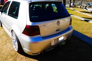 R32 silver VW