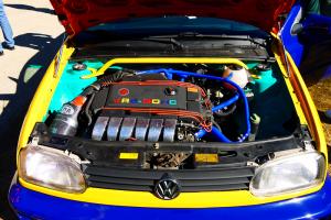 VW golf motor
