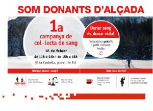 la campagne de la Croix-Rouge d'Andorre sur le don de sang