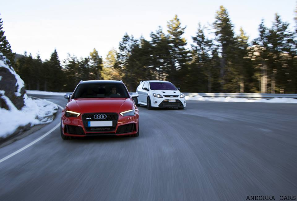 Audi RS3 VS Ford Focus RS