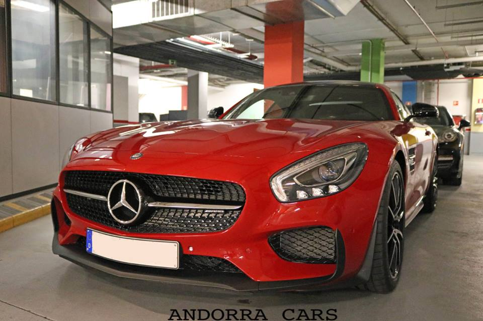 Mercedes Benz AMG GTS Edition 1