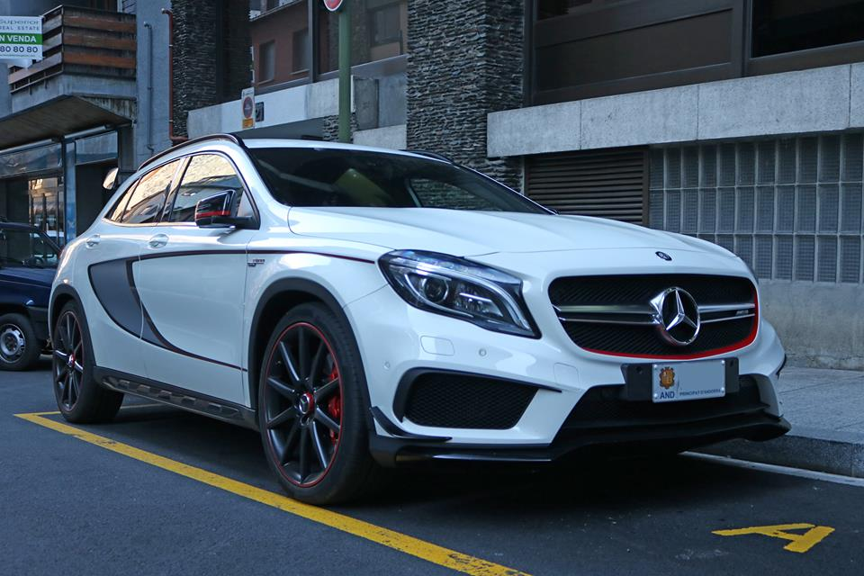 Mercedes Benz GLA45 AMG Edition 1