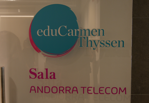 andorra telecom carmen thyssen myseum