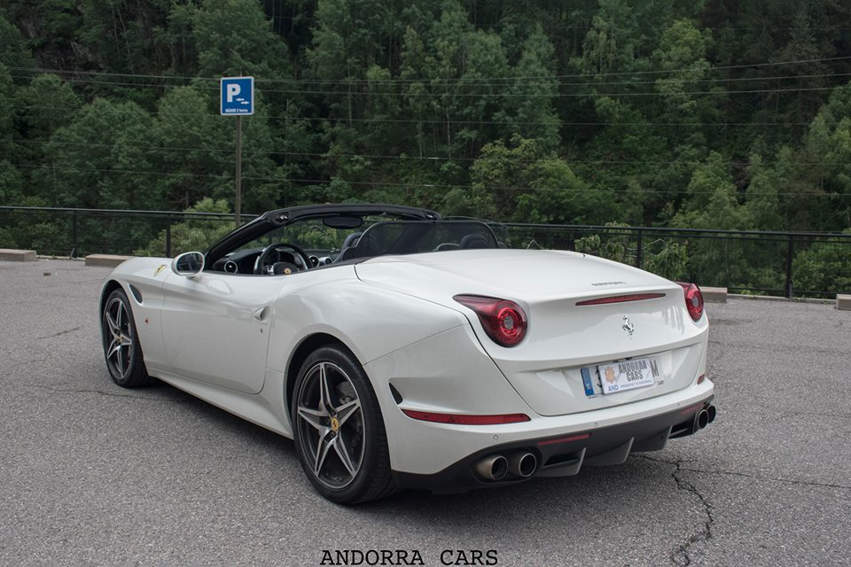 Ferrari California. White version • ALL ANDORRA