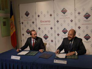heliport-andorra-agreement signing 2017