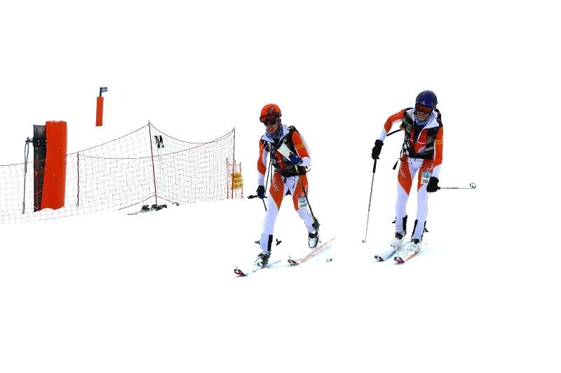 Соревнования по лыжному альпинизму SKIMO6