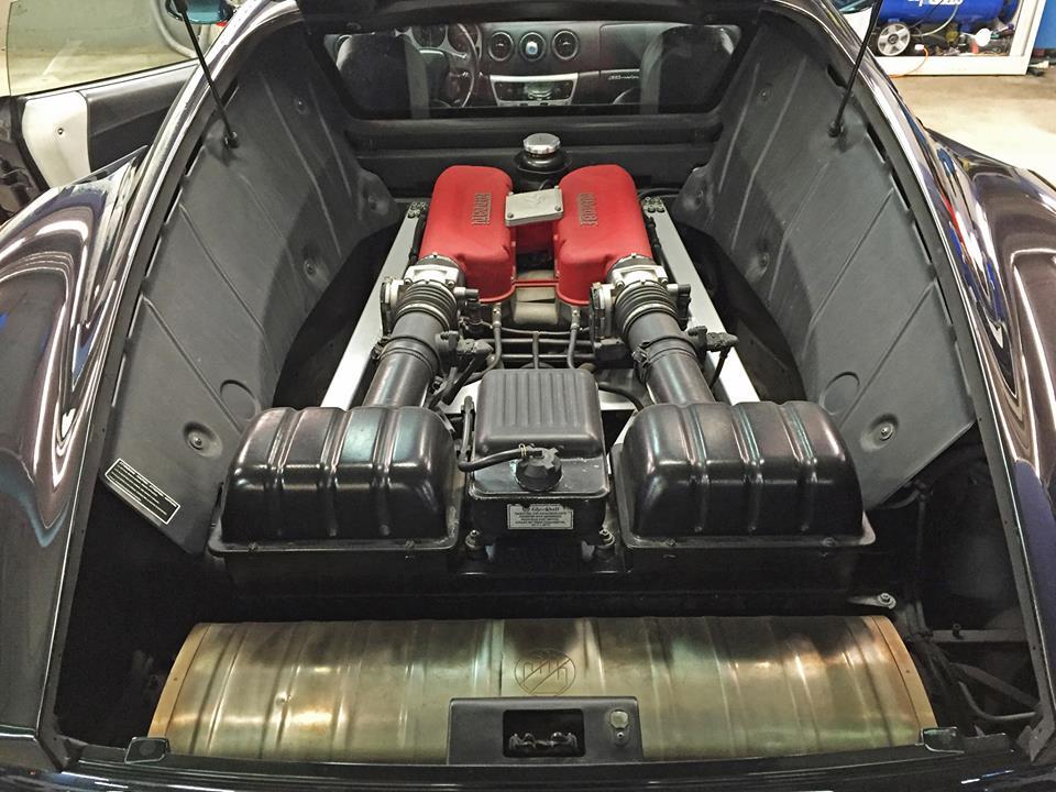 360 Modena engine motor