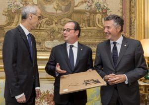 Antoni Marti, Vicenc Mateu, Francois Olland