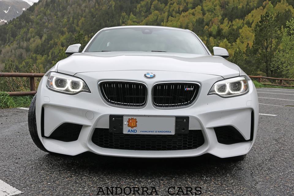 BMW M2. White colour. 20 photos