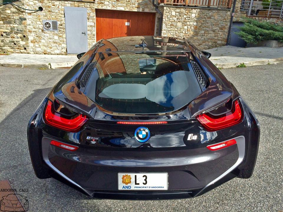 Bmw I8 Black Color All Andorra