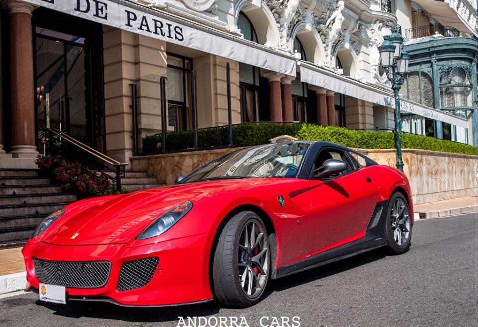 Ferrari 599 GTO monaco