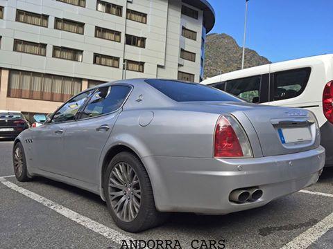 Maserati Quattroporte grey