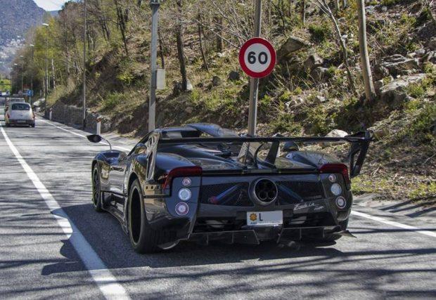 Pagani Zonda LM Roadster black