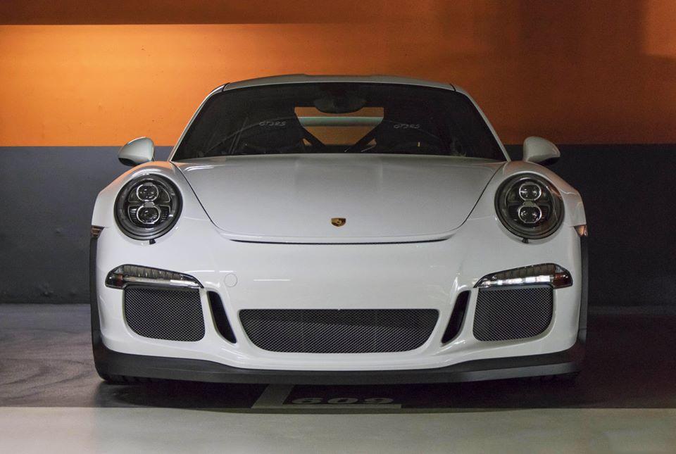 Porsche 991 GT3 RS white
