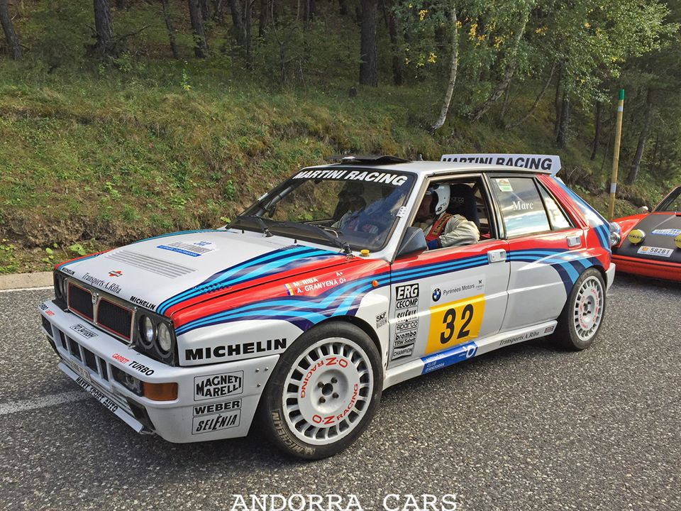 Martini Racing Rally Andorra Lancia Delta Integrale All Andorra