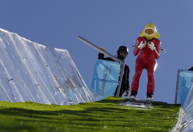 соревнования на скорость горные лыжи андорра 2017