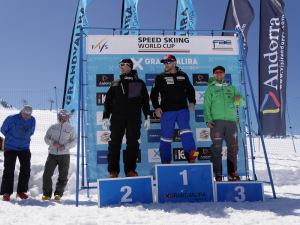 speed skiing world cip 2017 andorra