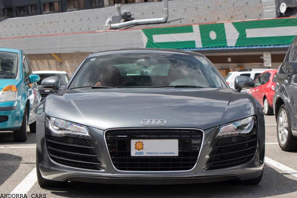 Audi R8 silver pack G