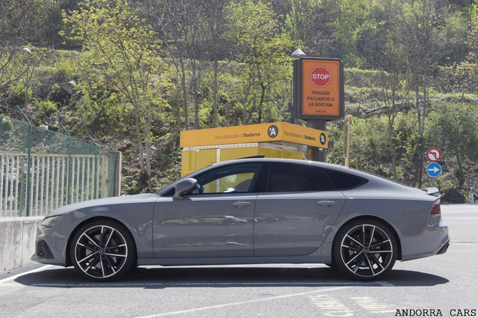 Audi RS7. Grey color