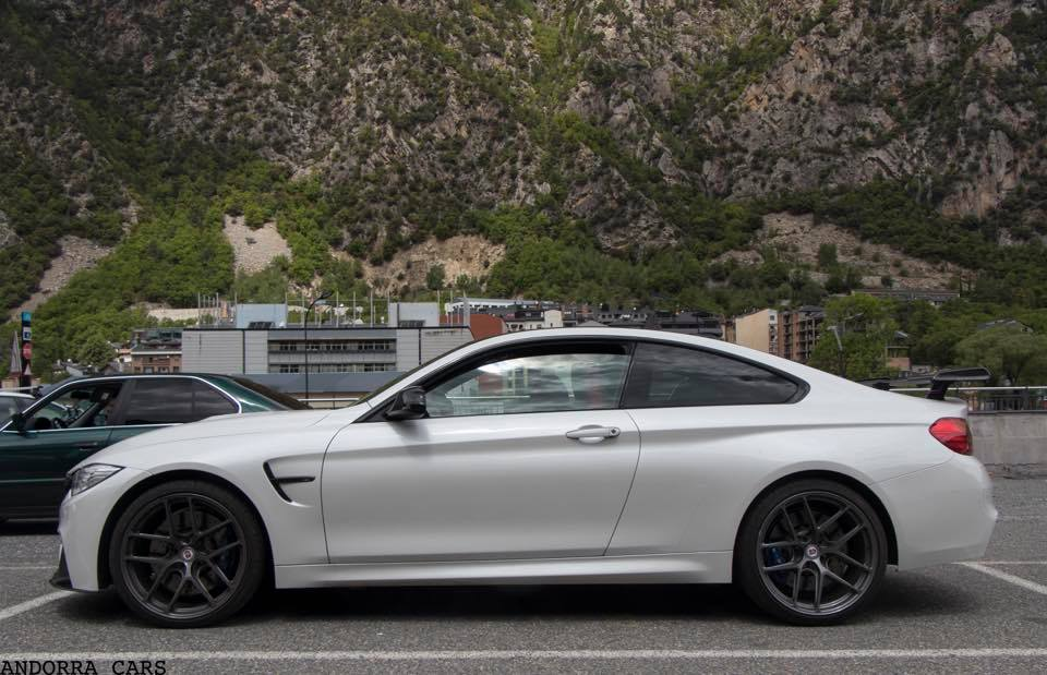 bmw m4 white colour all andorra. Black Bedroom Furniture Sets. Home Design Ideas