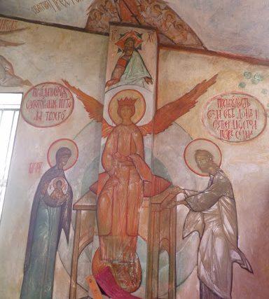 Казанская иконы Пресвятой Богородицы в Муазeне