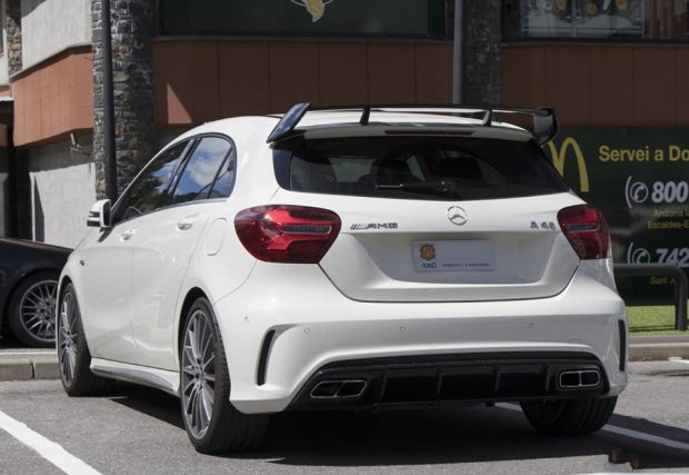 Mercedes-Benz A45 AMG white