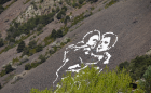 land art_people_mountain