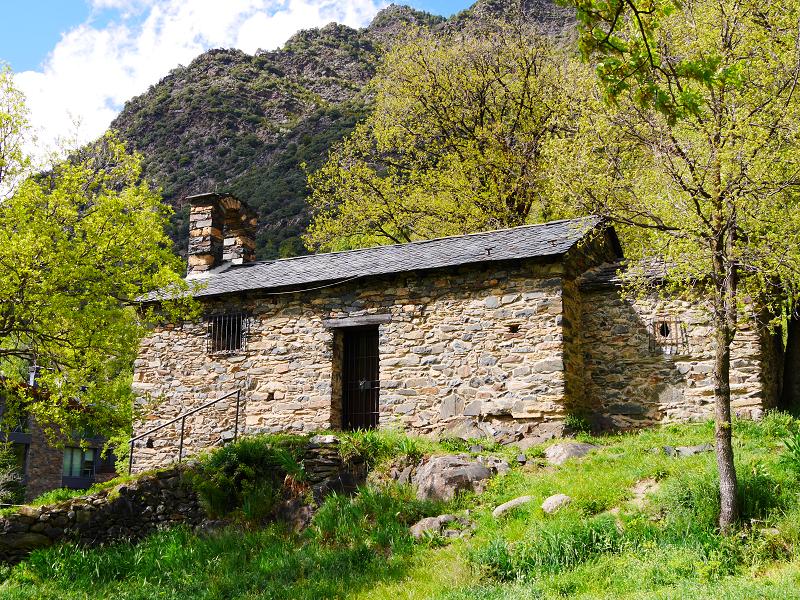 sant roma dels vilars church