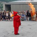 Sant Joan, fête du feu. Andorre-la-Vieille 23.06.2017