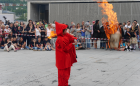 Сант Жоан, Фестиваль огня Андорра ла Велья 23.04.2017_огонь