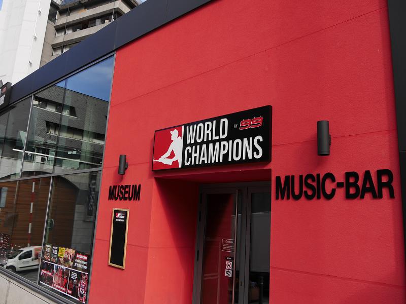 World champions museum F1_andorra_Jorge Lorenzo